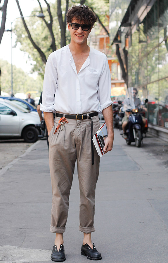 Street Style Day 1 - MFW S/S 2014