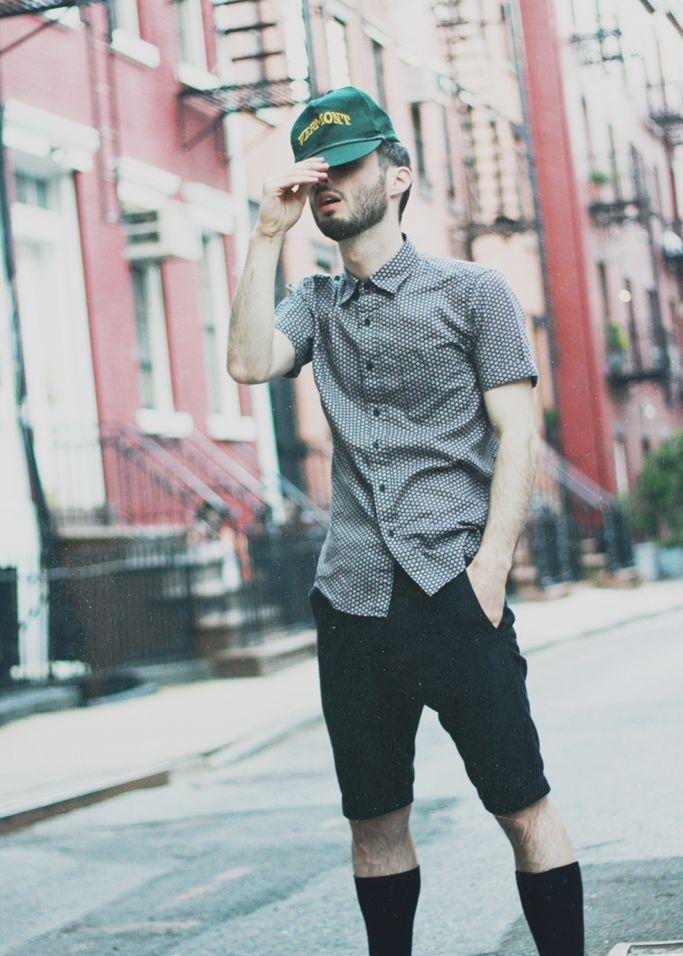 men-summer-trend-short-sleeve-shirt