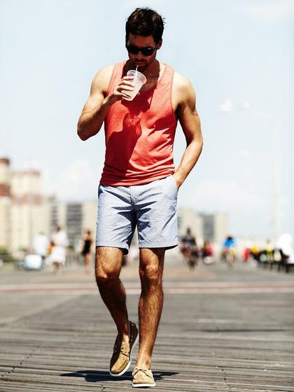 men-trends-shorts-vest