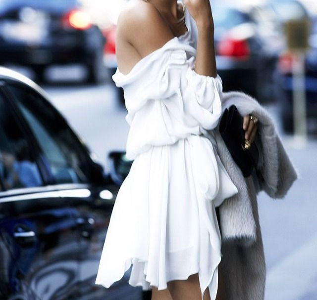 off-the-shoulders-white-dress