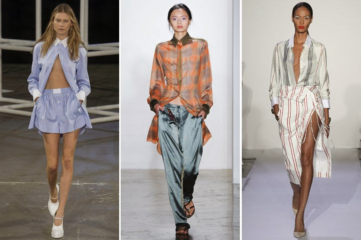 runway button down shirts The Button Down Trend: YES Or NO?