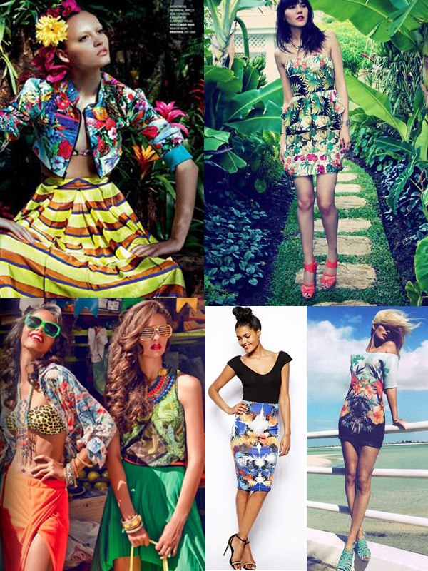 Tropical Prints Are Taking Over This Summer The Fashion