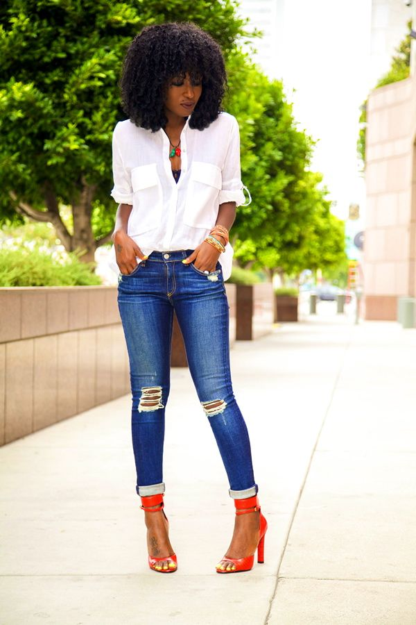 The Button-Down Trend: YES Or NO? – The Fashion Tag Blog