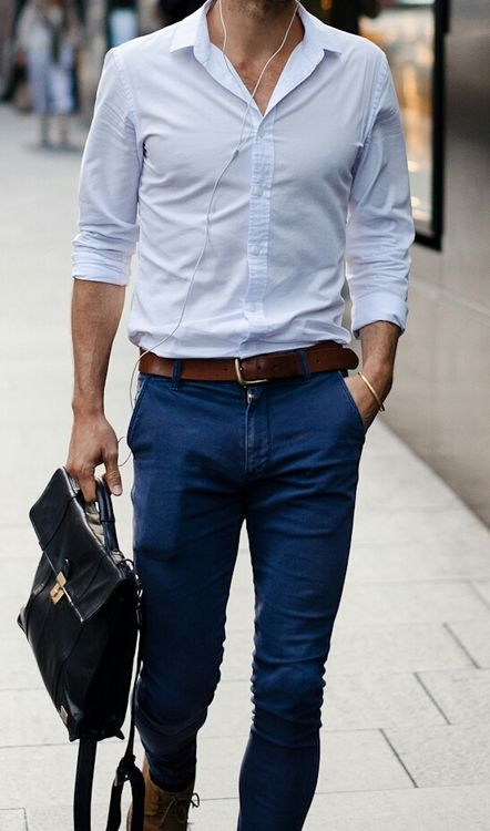 men-summer-looks-brown-belt