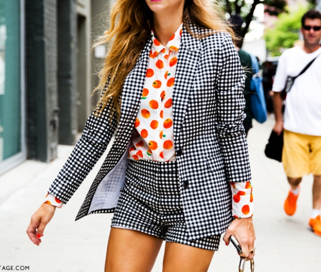 Mixed Prints Style