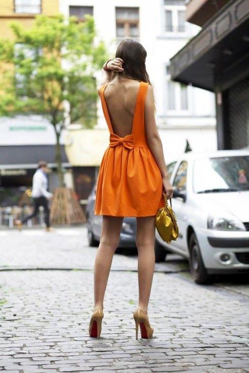 open-back-dress-street-style