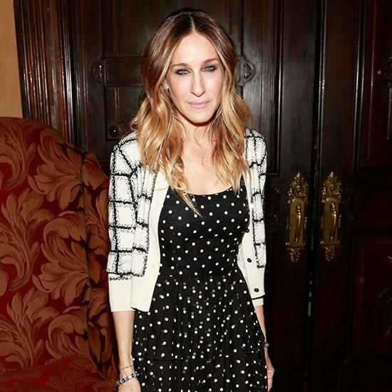 Sarah-Jessica-Parker-Polka-Dots-Checks-Video