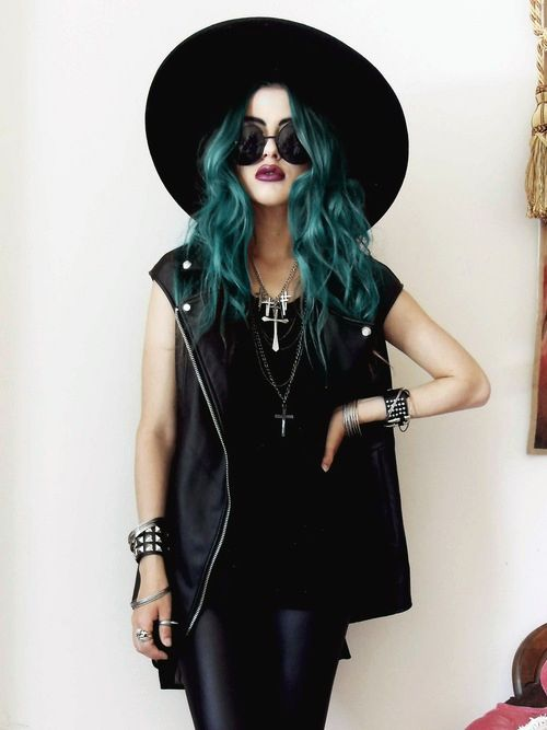 green-hair-trend