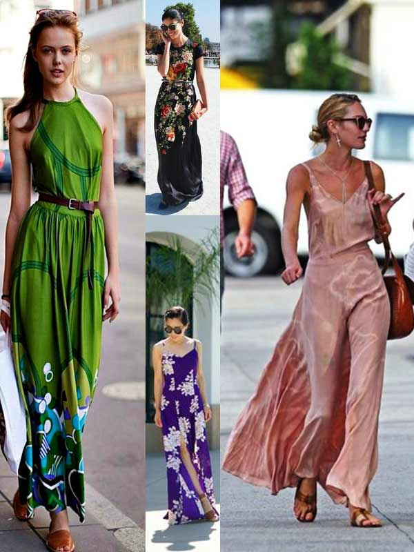 Hairstyles With Maxi Dress | style pantry long sleeve maxi