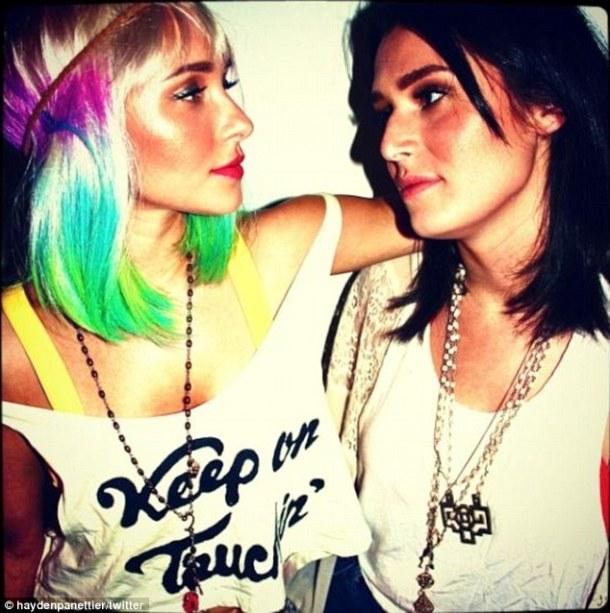 rainbow-hair