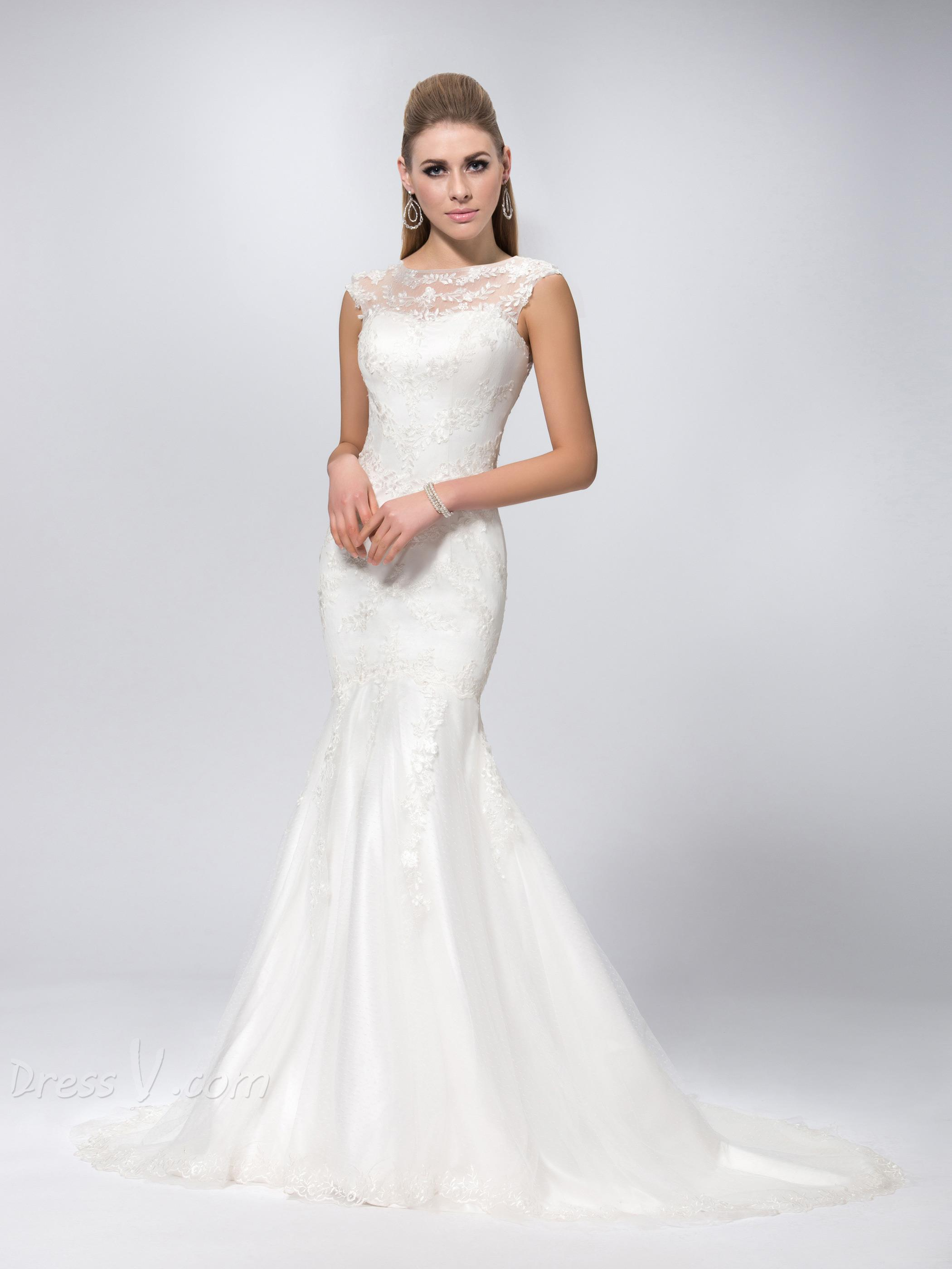 Are mermaid wedding dresses a trend the fashion tag blog for Sexy classy wedding dress