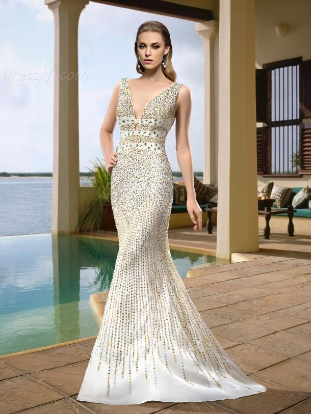 sexy-mermaid-wedding-dresses-from-dressv (8)