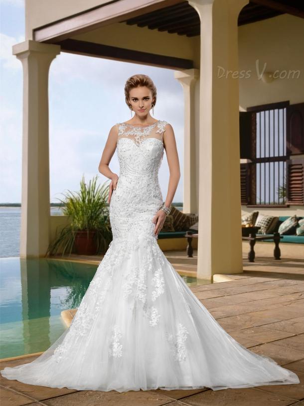 sexy-mermaid-wedding-dresses-from-dressv (9)