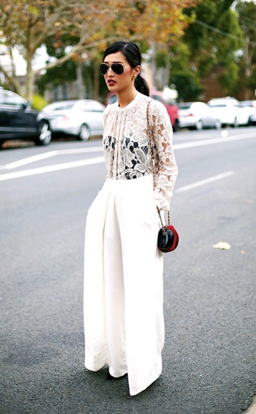 Wearing Lace In Summer Yes Or No The Fashion Tag Blog