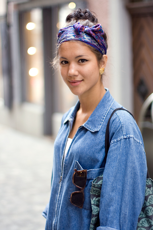 Street Fashion What To Wear With A Bandana
