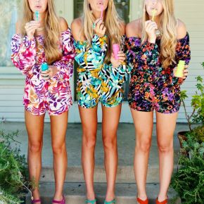 The Many Ways To Wear A ROMPER!