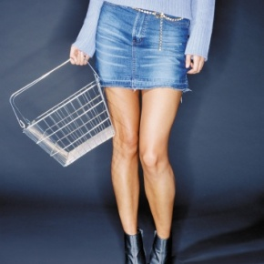 Is The Denim Skirt Really Passe?