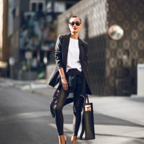 How To Wear LEATHER PANTSAnywhere?