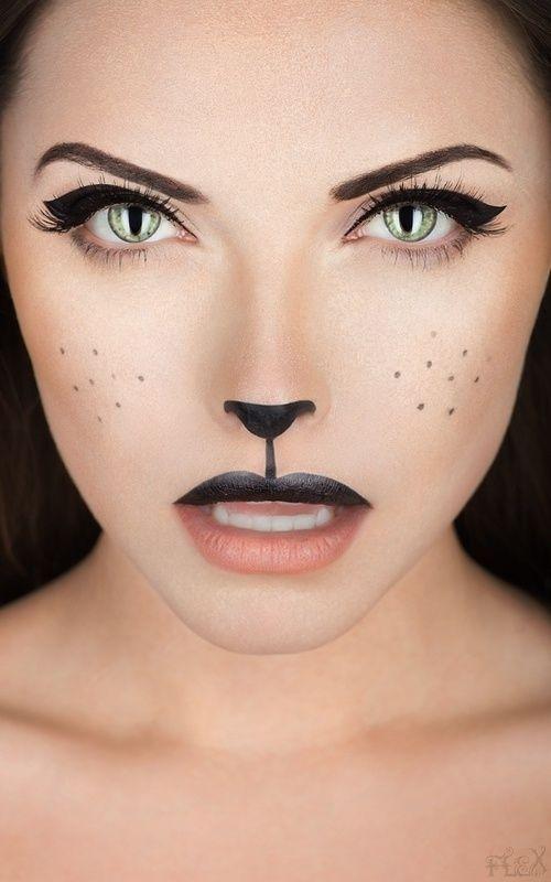 Fashion Friday's: Last Minute Halloween Costume Ideas ... |Simple Cat Costume Ideas