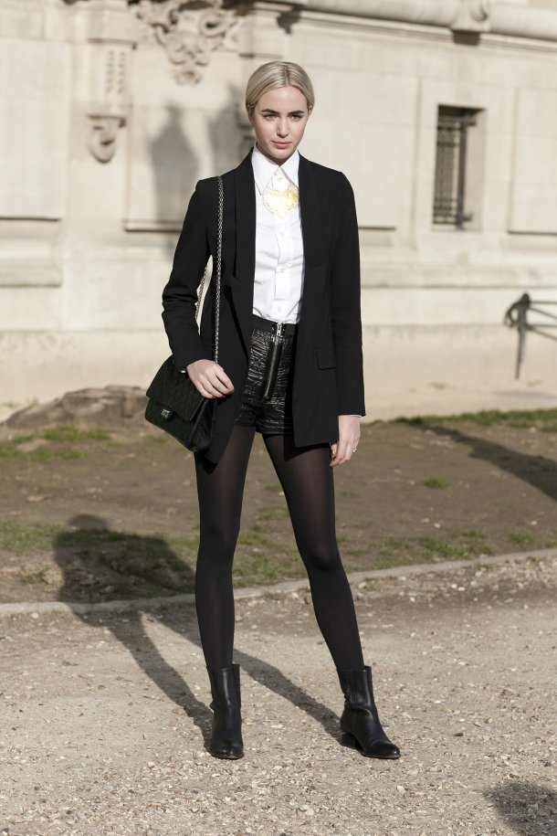 Skip-skirts-dresses-make-shorts-work-Winter-pairing